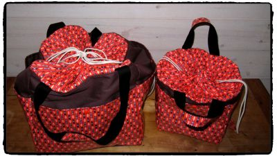 SAC WEEK END ORANGE PETIT PAN 2