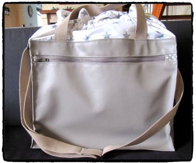 SAC A LANGER ETOILE ET TAUPE 3